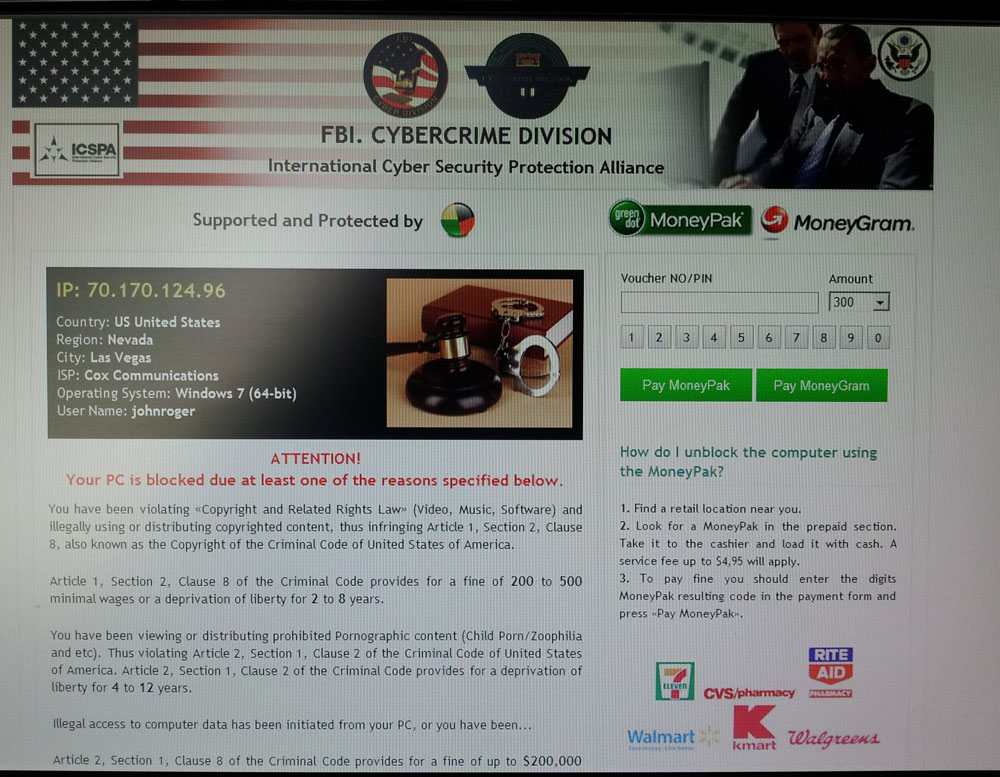 Viruses or Spyware that Hi-jacks your PC - lvit com